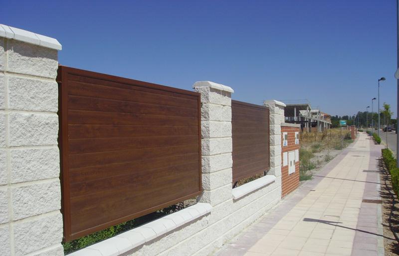 Carpinter a met lica puertas caren - Paneles imitacion piedra bricodepot ...