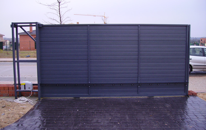 Puertas metalicas exterior precios good with puertas for Puertas metalicas precios